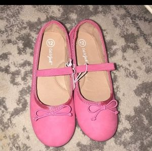 cat  & Jack flat shoes for girl size 12